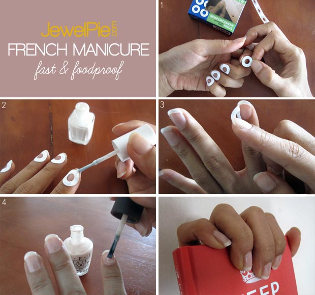 JewelPie- Fast & Foolproof French Manicure