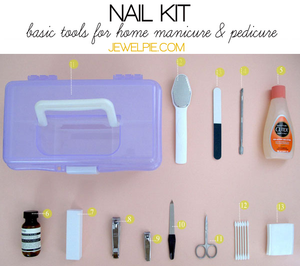 How to build a basic manicure kit – JewelPie