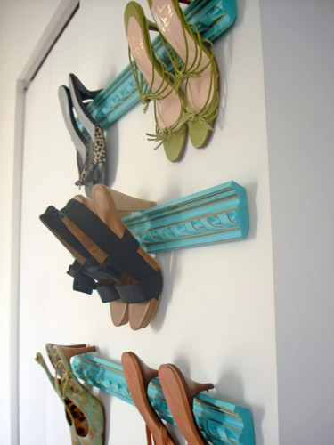 creative ideas to store your shoes