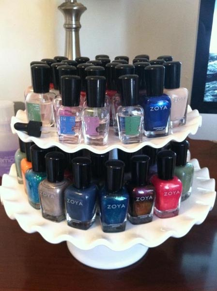 15 Beautiful Ideas To Organise Your Nail Polish Jewelpie