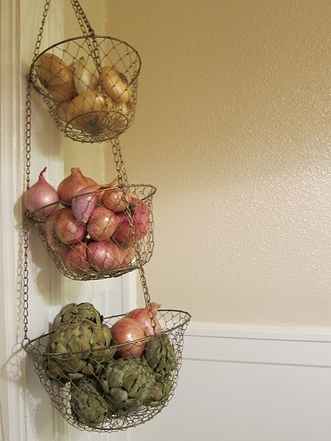 Wire Pantry Organization Ideas