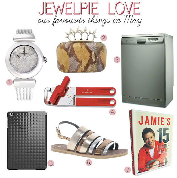 JEWELPIE LOVE: Our favourite things in May