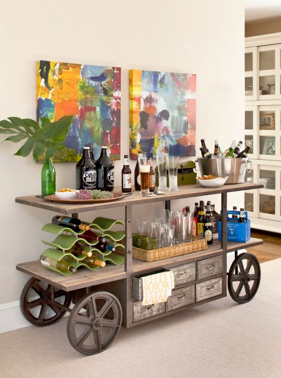 10 creative ideas for a mini home bar jewelpie