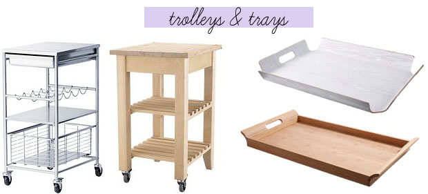 JewelPie: Trolley & Trays