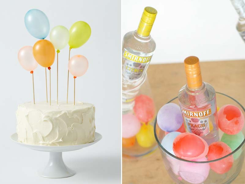 15 cool ideas for a balloon-filled party!