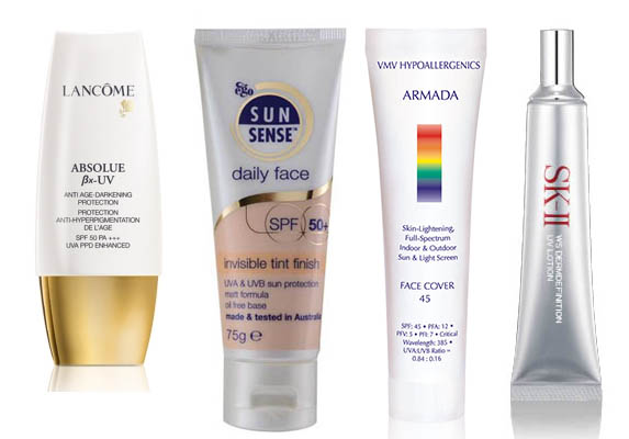 The no.1 beauty product to combat aging: high SPF sunblock