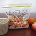 Vegetable Congee In Ziplock Bag