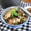 claypot chicken rice with rice cooker