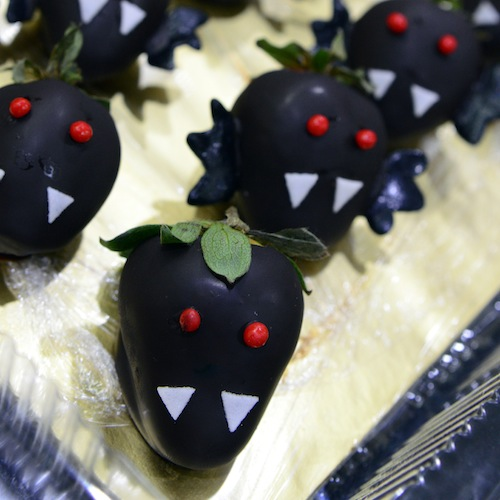 Strawberry Halloween Dessert