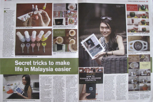 JewelPie in The Malay Mail