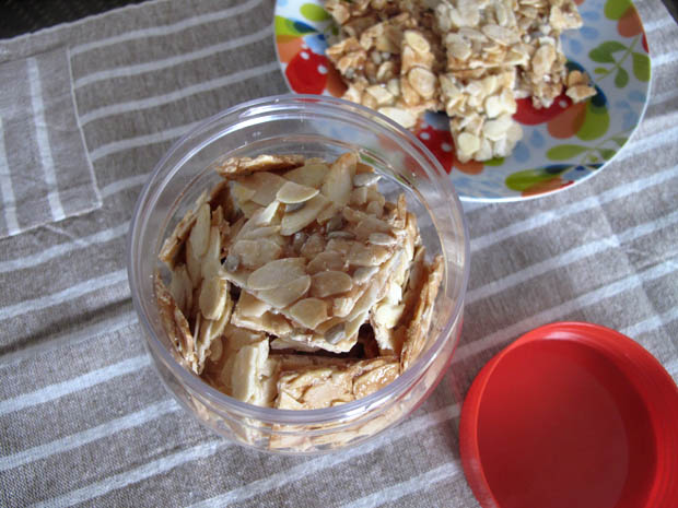 Almond Flakes Cookies