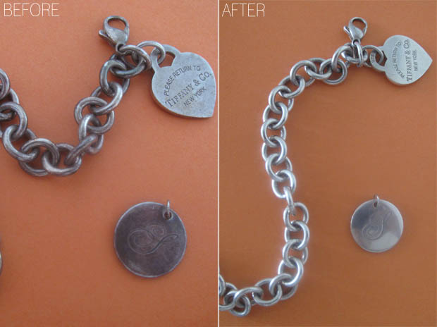 how to polish silver jewellery
