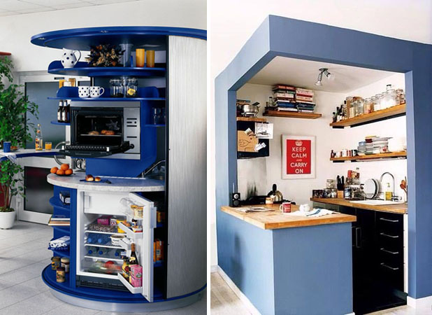 12 Compact Kitchens For Small Homes