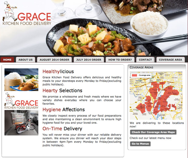 grace kitchen food delivery