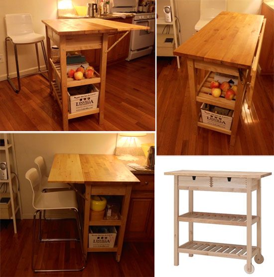 10 Best Ikea Hacks For A Small Apartment Kitchen Jewelpie