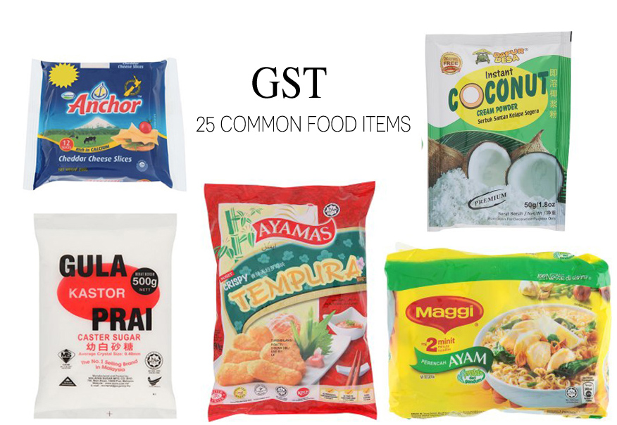 GST: 25 common food items with 6% tax