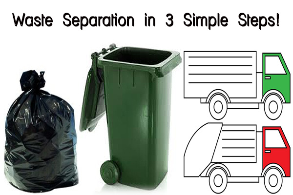 Waste Separation in 3 Simple Steps!