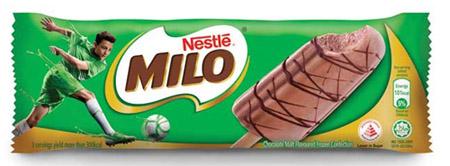Milo ice-cream